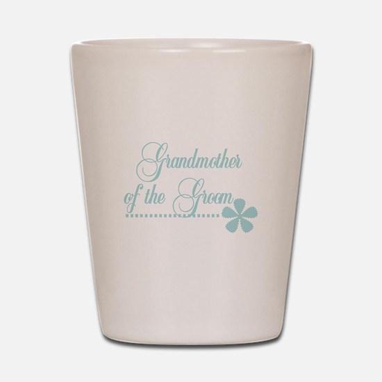 Grandmother of Groom Shot Glass