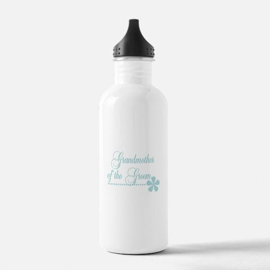 Grandmother of Groom Water Bottle