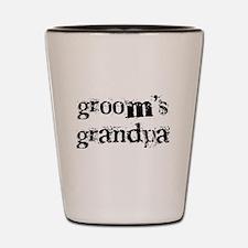 Groom's Grandpa Shot Glass