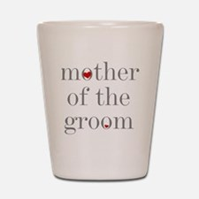 Cute Mother of the groom Shot Glass