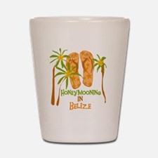 Honeymoon Belize Shot Glass