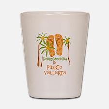 Honeymoon Puerto Vallarta Shot Glass