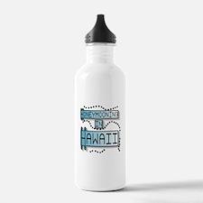 Blue Honeymoon Hawaii Water Bottle