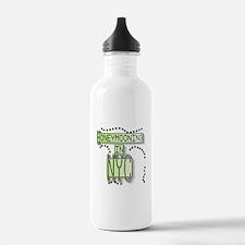 Green Honeymoon NYC Water Bottle