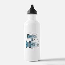 Blue Honeymoon St. Martin Water Bottle