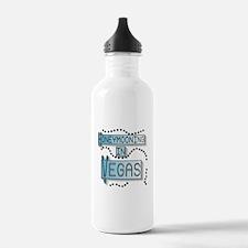 Blue Honeymoon Vegas Water Bottle