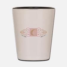 Monogram C Shot Glass