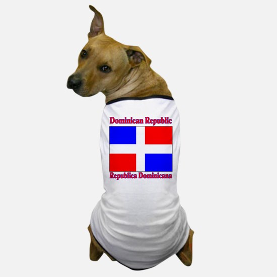 Republica Dominica Dog T-Shirt