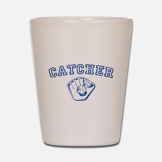 Catcher - Blue Shot Glass
