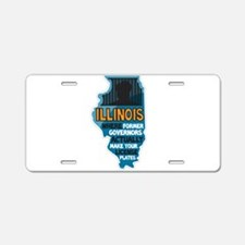 Illinois Governors Aluminum License Plate