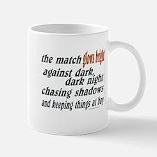 Verse: Match Glows Bright Mug