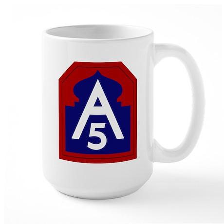 5th Army Large Mug
