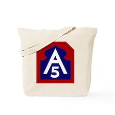 5th Army Tote Bag