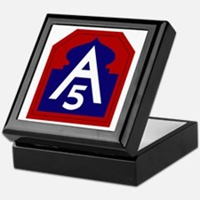 5th Army Keepsake Box