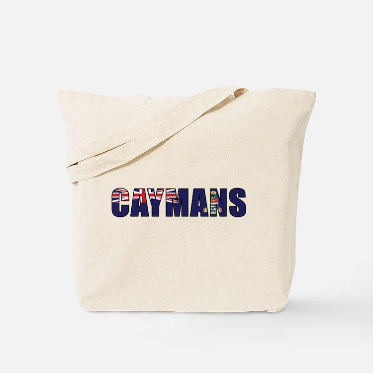 Caymans Tote Bag