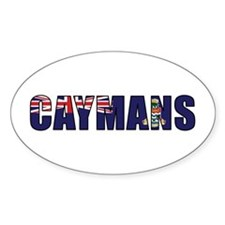 Caymans Decal