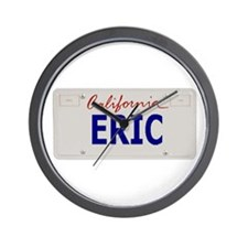 California Eric Wall Clock
