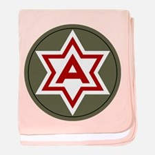 Sixth Army baby blanket