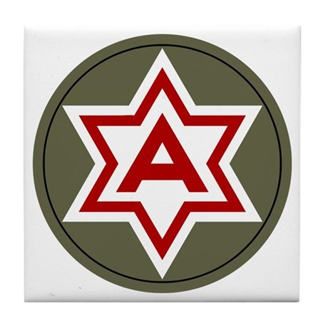 Sixth Army Tile Coaster