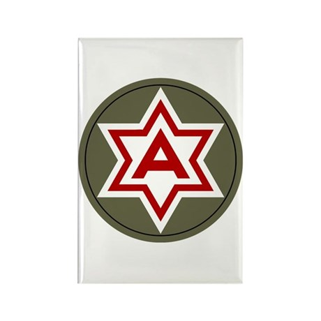 Sixth Army Rectangle Magnet (100 pack)