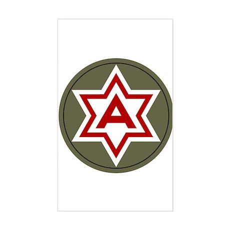 Sixth Army Sticker (Rectangle)