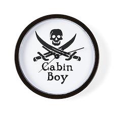 Cabin Boy Wall Clock