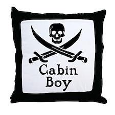 Cabin Boy Throw Pillow