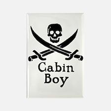 Cabin Boy Rectangle Magnet