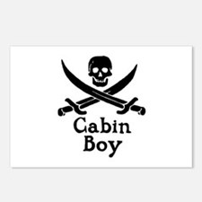 Cabin Boy Postcards (Package of 8)