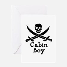 Cabin Boy Greeting Card