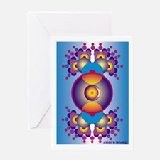 Crop Circle Greeting Card