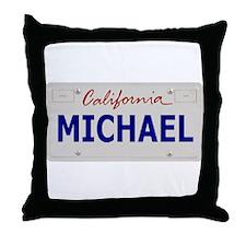 California Michael Throw Pillow
