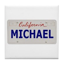 California Michael Tile Coaster