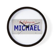 California Michael Wall Clock