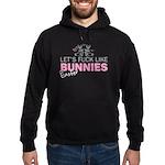 Let's fuck like bunnies (East Hoodie (dark)