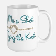 Heart Knot Shot Large Mug