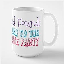 Lost & Found Bachelorette Large Mug