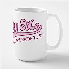 Lucky Me Bride Large Mug