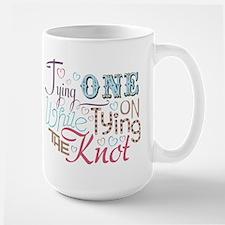 Bachelorette Tying One On Large Mug