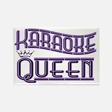 """""""Karaoke Queen"""" Rectangle Magnet"""