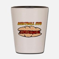 Meatball Sub Shot Glass
