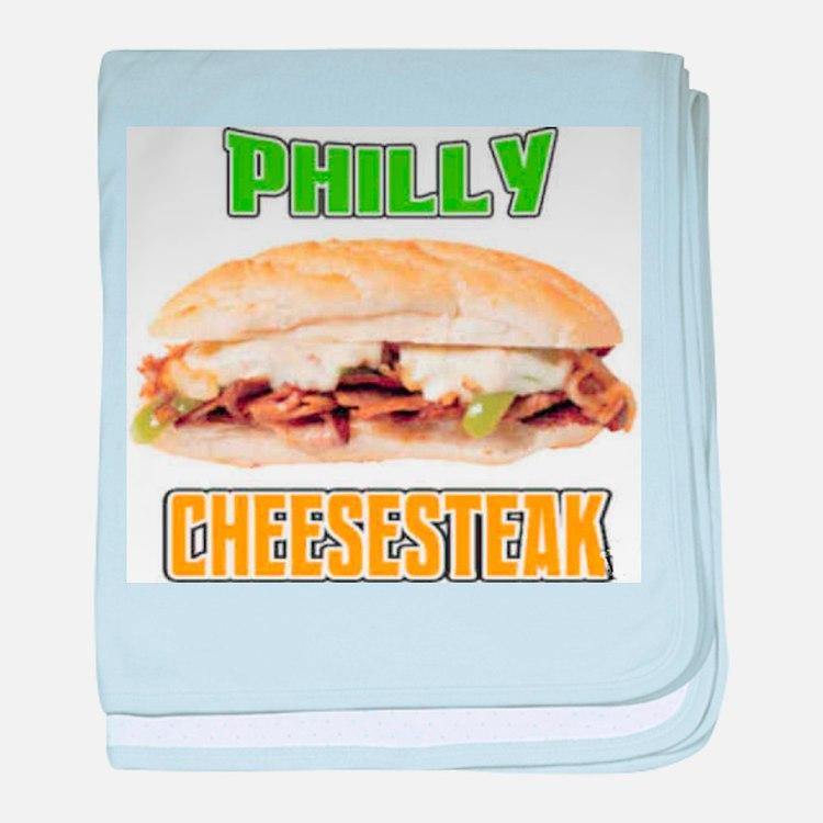 Philly CheeseSteak baby blanket