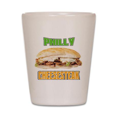 Philly CheeseSteak Shot Glass