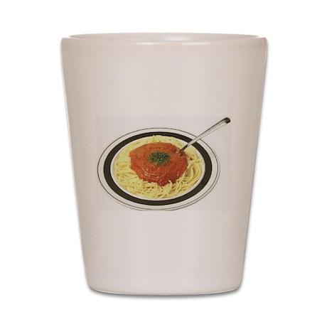 Pasta Marinara Shot Glass