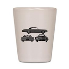 Chevy Caprice Shot Glass