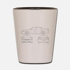Pontiac Bonneville Shot Glass