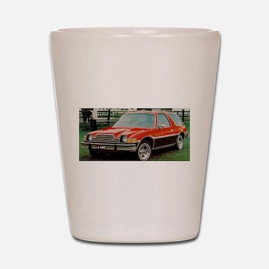 AMC Pacer Wagon Shot Glass