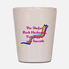 Rosh Hashanah Shot Glass