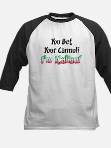 Bet Your Cannoli Kids Tee