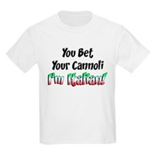 Bet Your Cannoli Kids T-Shirt